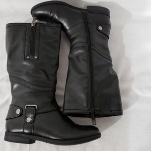 Cupcake Couture girls black boots
